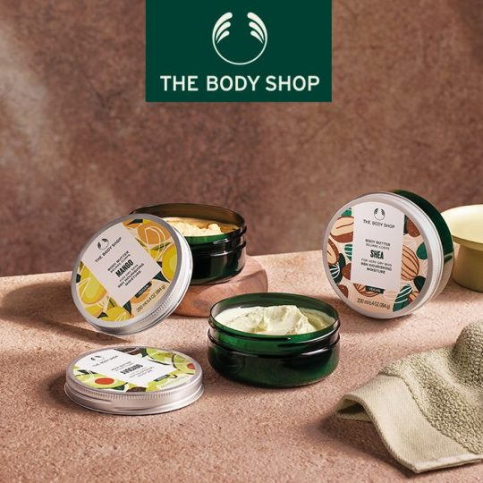Photo Beurre Corps de The Body Shop à Vevey